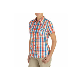 The North Face S/S Boulder Kassie Woven Women juicy red